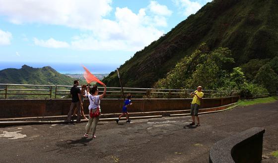 (晚餐自理)            景点 大风口风景区夏威夷大风口风景区位于瓦