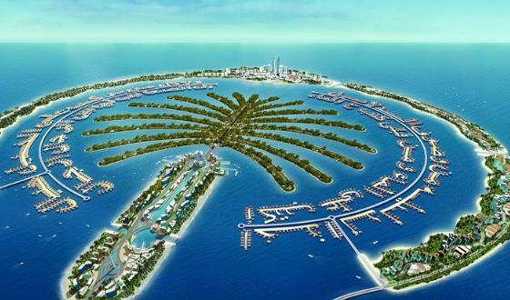 """是""""世界上最大的人工岛"""""""