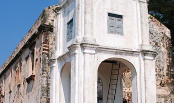 欧式的古代建筑物