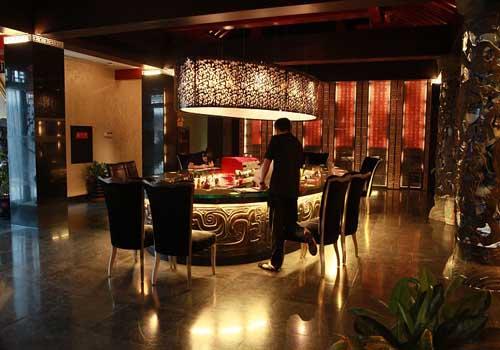 北京餐厅_北京女仆餐厅_客厅餐厅隔断