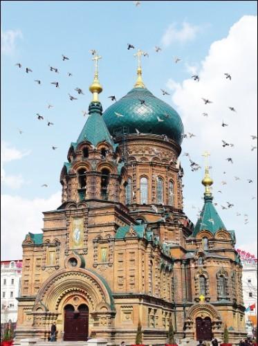 欧式风格的教堂钟