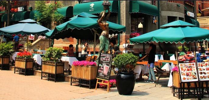 意式风情街是意大利使者建筑的