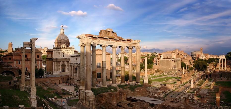 意大利古罗马广场观光之旅图片