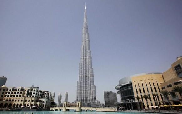 迪拜哈利法塔观光之旅