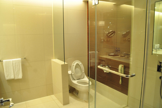 令人欣慰的凯悦酒店卫生间
