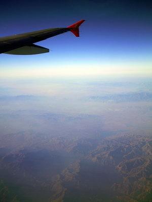 那天回广州的的飞机上