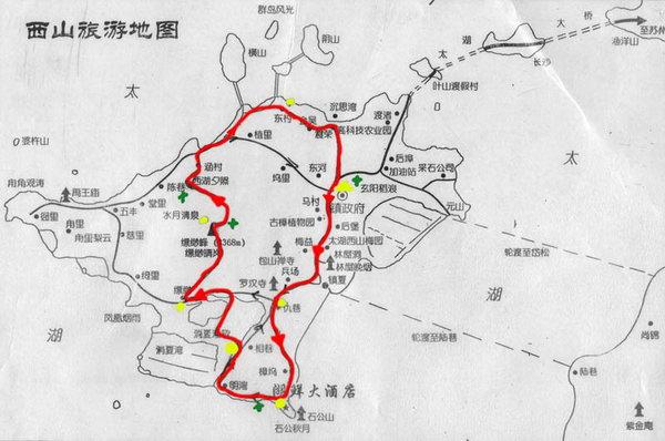 地图乌镇周庄西塘苏州千岛湖