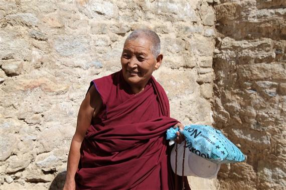 西藏帅喇嘛模特