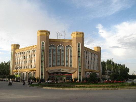 新疆广播电视台大楼外景图片